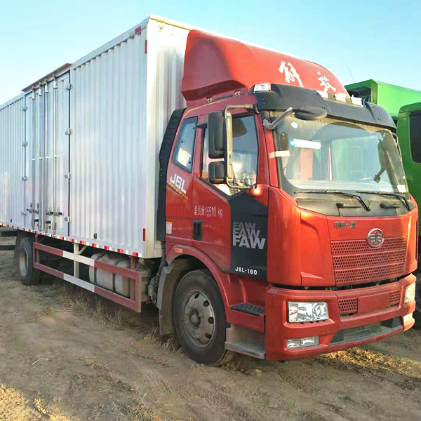 一汽解放J6質惠版6.8米箱式貨車