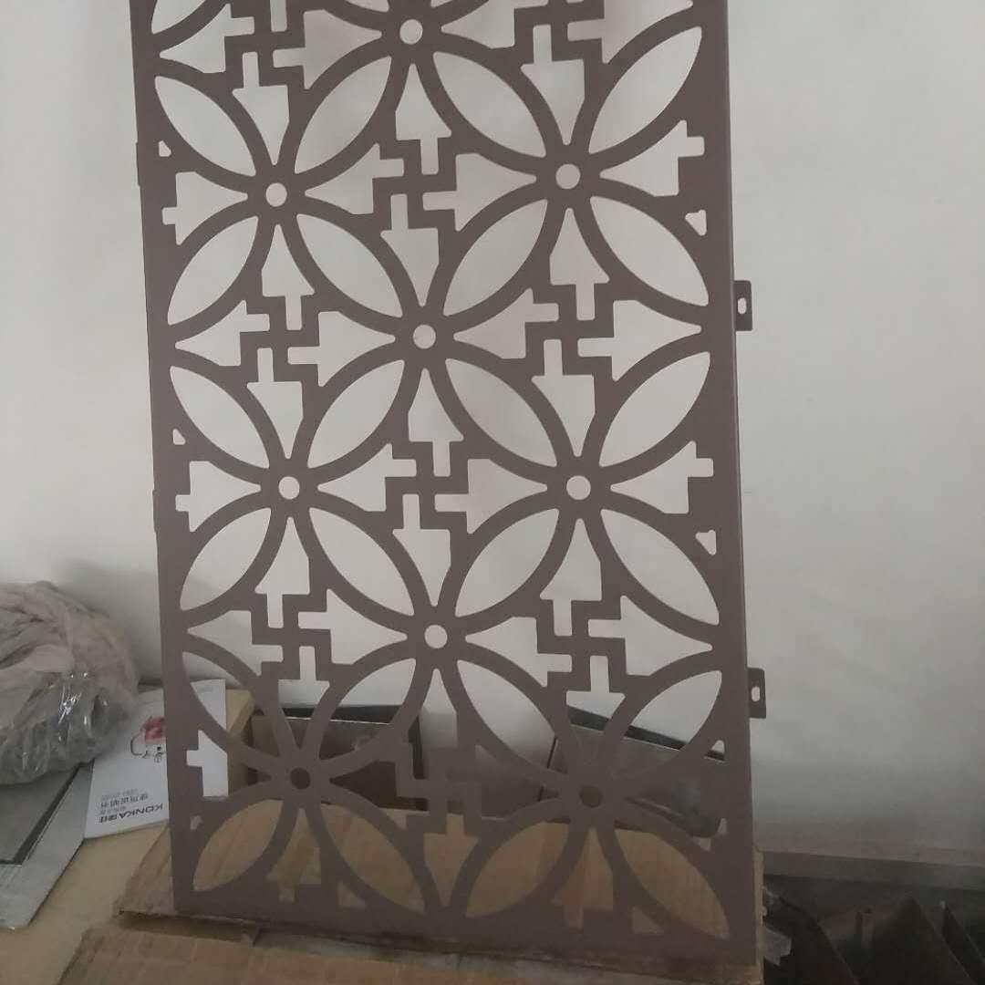 美容护肤中心外墙祥云雕花铝板 铝板雕刻隔断屏风生产厂家