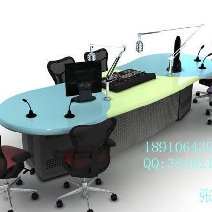 直播桌专业广播直播机房