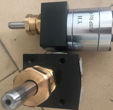 3cc佛碳漆专用油漆齿轮泵