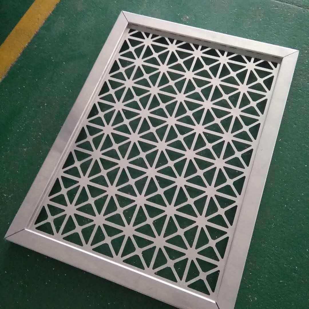 铝雕花金属板 酒店金属铝合金屏风 店铺门头艺术镂空铝板厂家