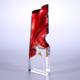 供应 水晶琉璃奖杯 创意五角星红旗奖牌定制 定做琉晶系列颁奖用品