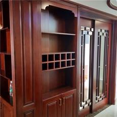 长沙订制全房实木客户在线-实木移门-酒柜门定做工厂名声