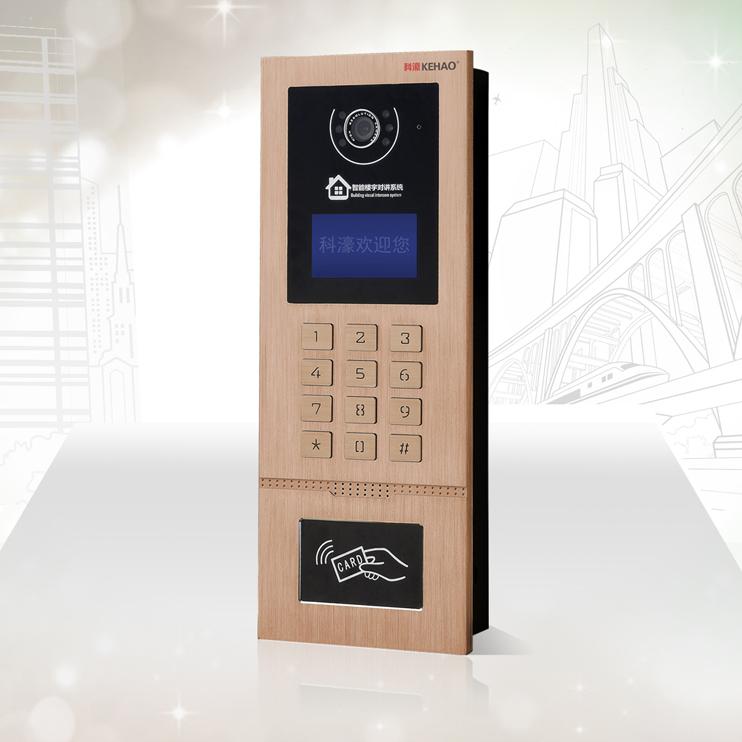 楼宇对讲十大品牌 可视对讲系统 科濠Z22室外门口机