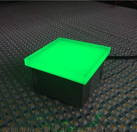 广场LED地砖灯广场LED线条地砖灯户外道路LED发光砖