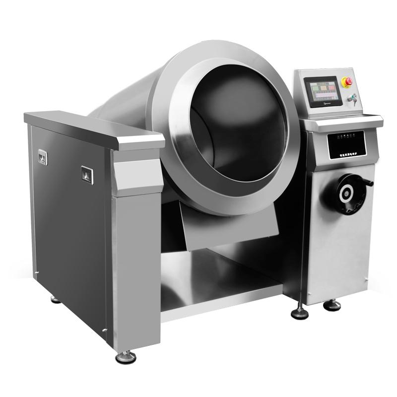 商用炒菜機2分鐘炒一個菜為餐飲業提高效率