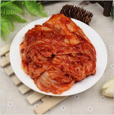 供应 正宗韩式风味泡菜 东北大妈辣白菜 延边鲜族风味酱菜1斤装下饭菜