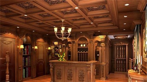 轩家门业品质无忧,整木家具,客厅整木家具