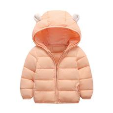 供應 2018款**棉衣兒童冬裝 輕薄羽絨棉服小童棉襖耳朵外套