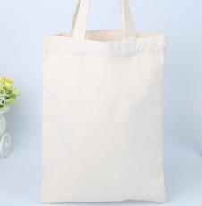 供应 空白帆布袋现货广告设计LOGO 环保手提袋超市购物袋