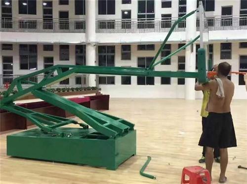 定制生产(图)_圆管篮球架厂_东莞篮球架厂