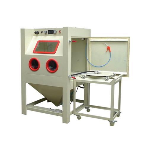惠州手动喷砂机_镝砂自动化设备_9080手动喷砂机