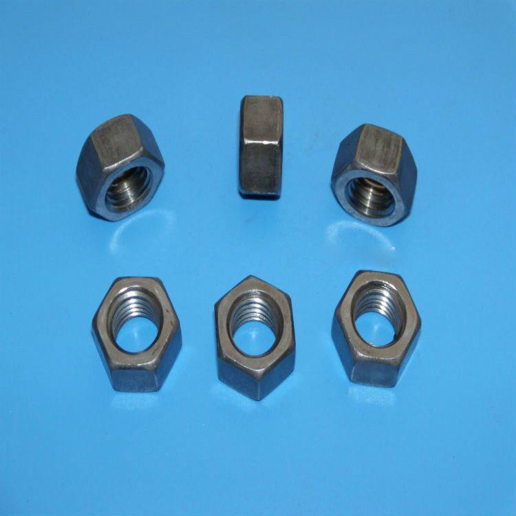 不锈钢六角螺母 4.8级六角螺母GB6170