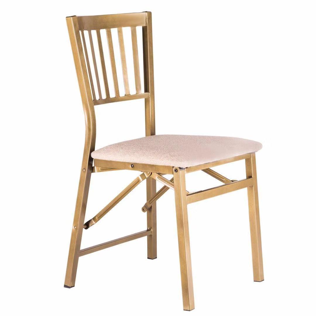辰阳折叠椅 携便靠背椅 折叠椅子 家用简约折叠凳