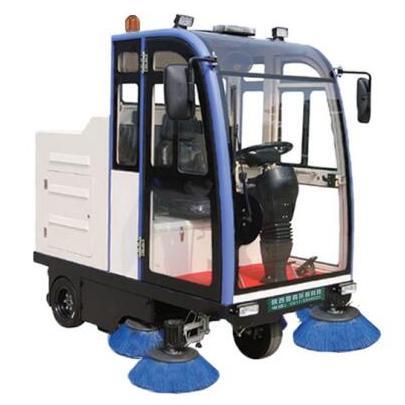 陕西普森供应全封闭式电动扫地清扫车