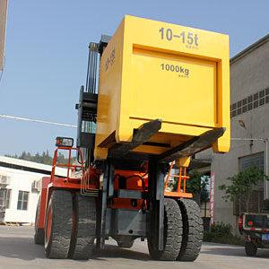 生产厂家华南重工15吨重型叉车港口码头专用叉车质保三年