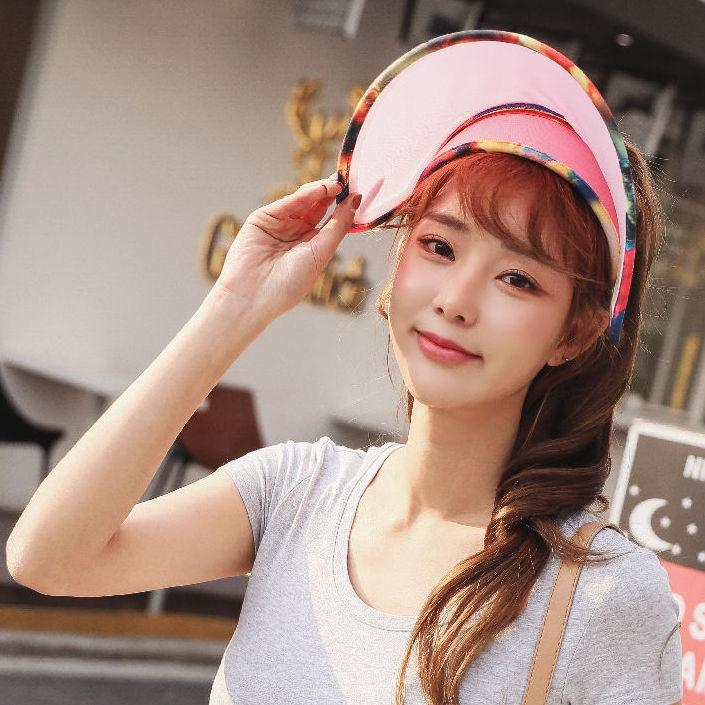 韓國正品 let's diet 防曬帽新升級版光療美膚帽夏季戶外防紫外線
