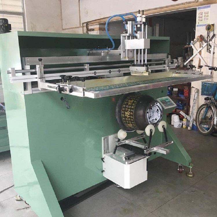 德州市塑料桶絲印機廠家涂料桶滾印機礦泉水桶絲網印刷機直銷